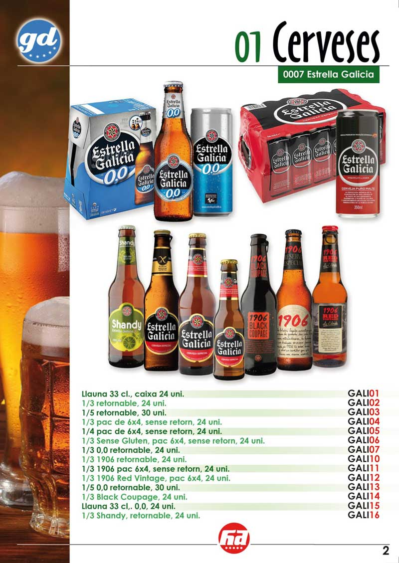 productes cerveses