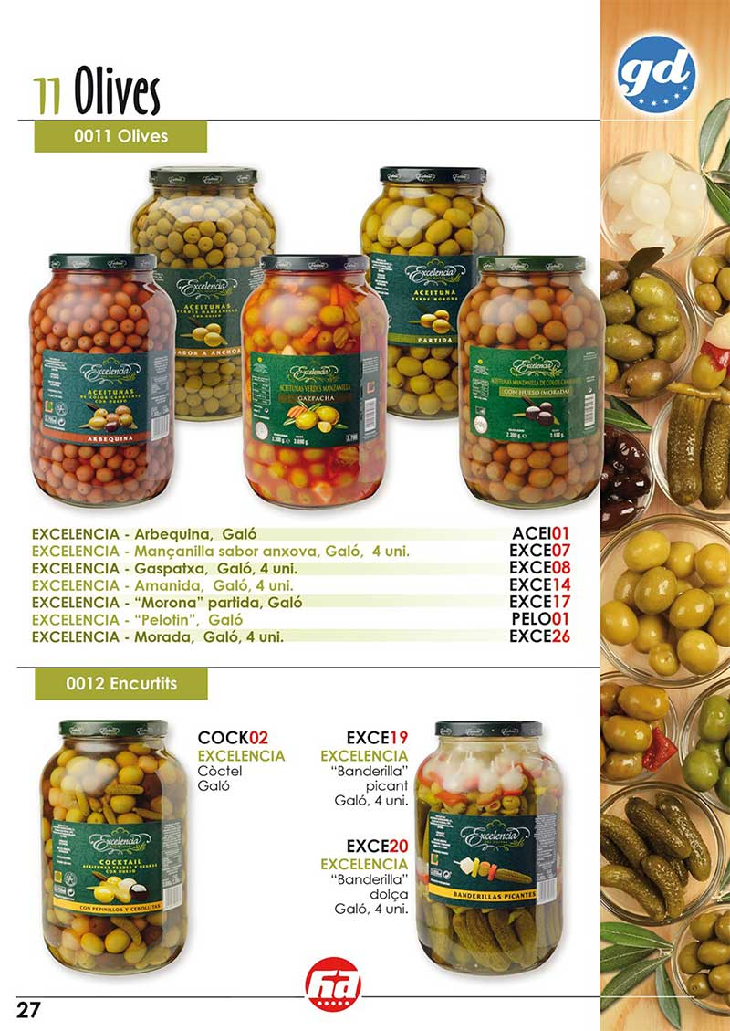 productes olives