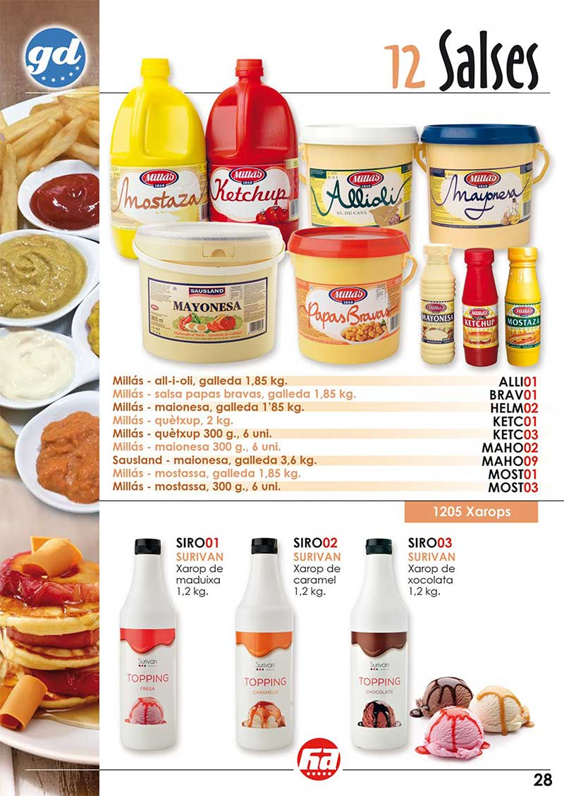 productes salses